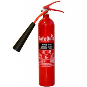 Aluminium Alloy 2kg CO2 Fire Extinguisher (Safequip)