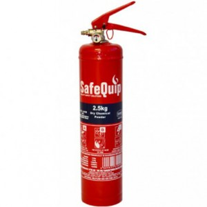 DCP 2.5kg Fire Extinguisher (Safequip)